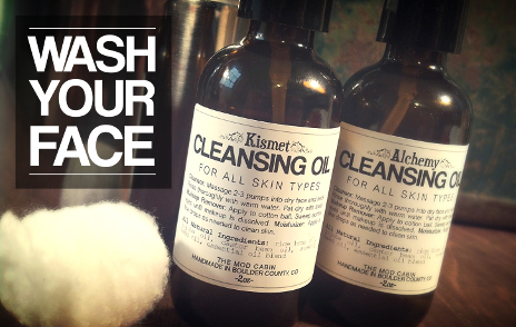 The Cleansing Oil Method at The Mod Cabin