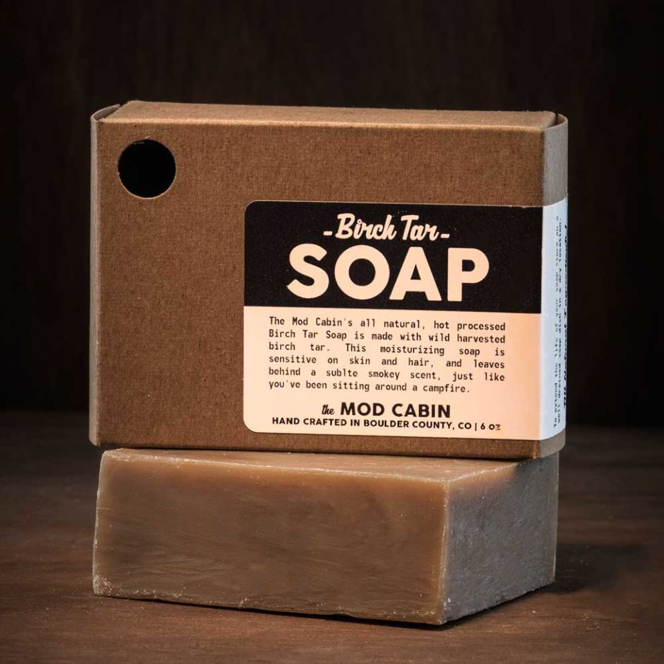The Mod Cabin Birch Tar Soap