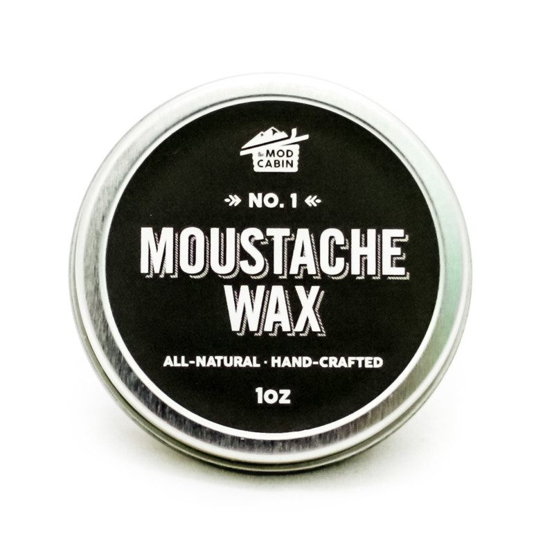 Moustache Wax No 1 The Mod Cabin Grooming Co