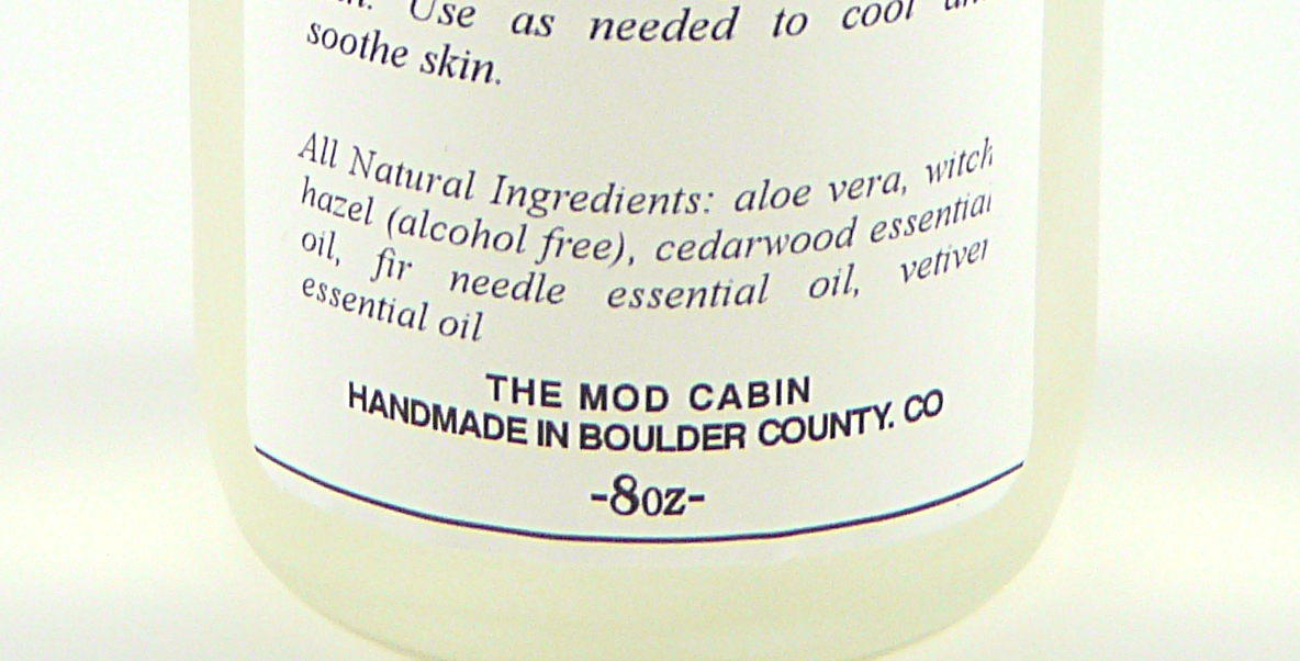The-Mod-Cabin-Ingredients-Label