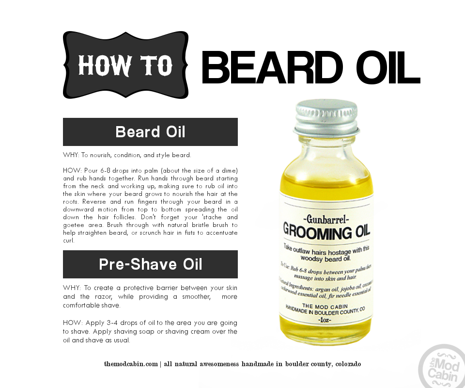 How To Beard Oil