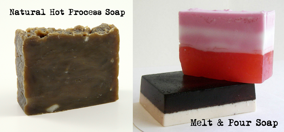 Hot processed soap versus melt and pour base