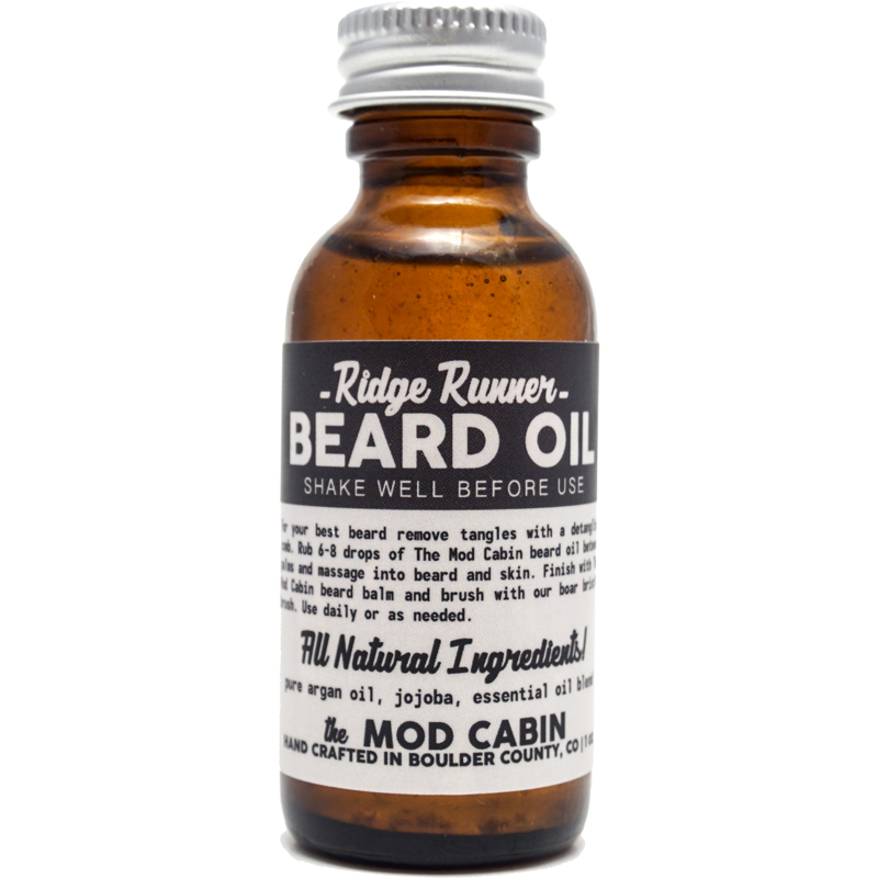 Ridge Runner Beard Oil The Mod Cabin Grooming Co