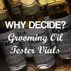 The Mod Cabin Beard Oil Tester Vials