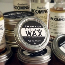 The Mod Cabin Moustache Wax