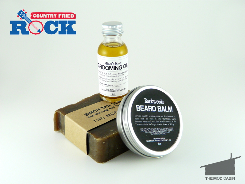 beard balm beard oil the mod cabin country fried rock