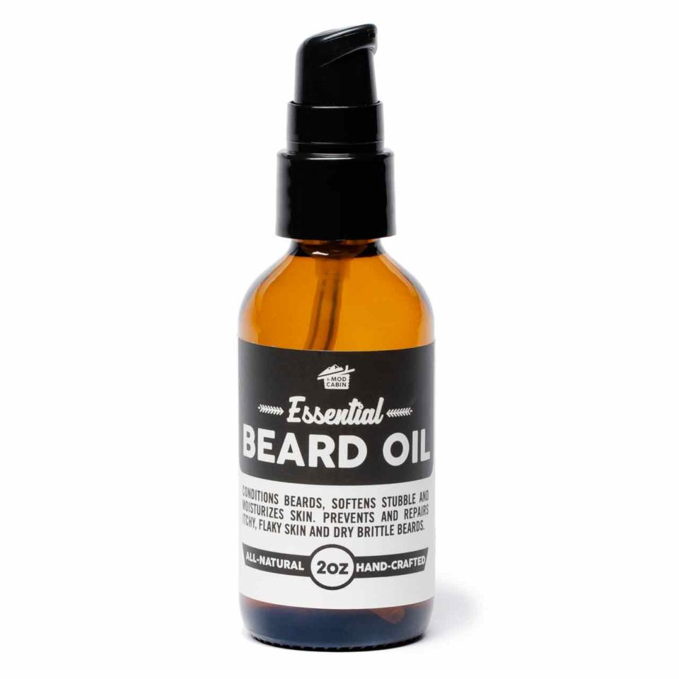 Unscented Essential Beard Oil Pump by The Mod Cabin