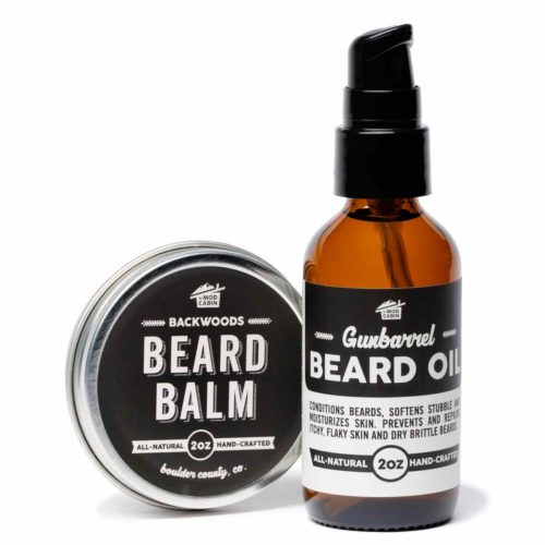 Beard Balm + Beard Oil Pump Set by The Mod Cabin