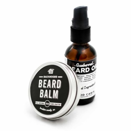 The Mod Cabin Beard Balm Beard Oil Pump Set