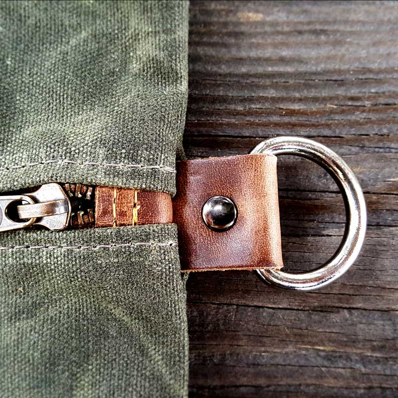 The Mod Cabin Waxed Canvas Pouch