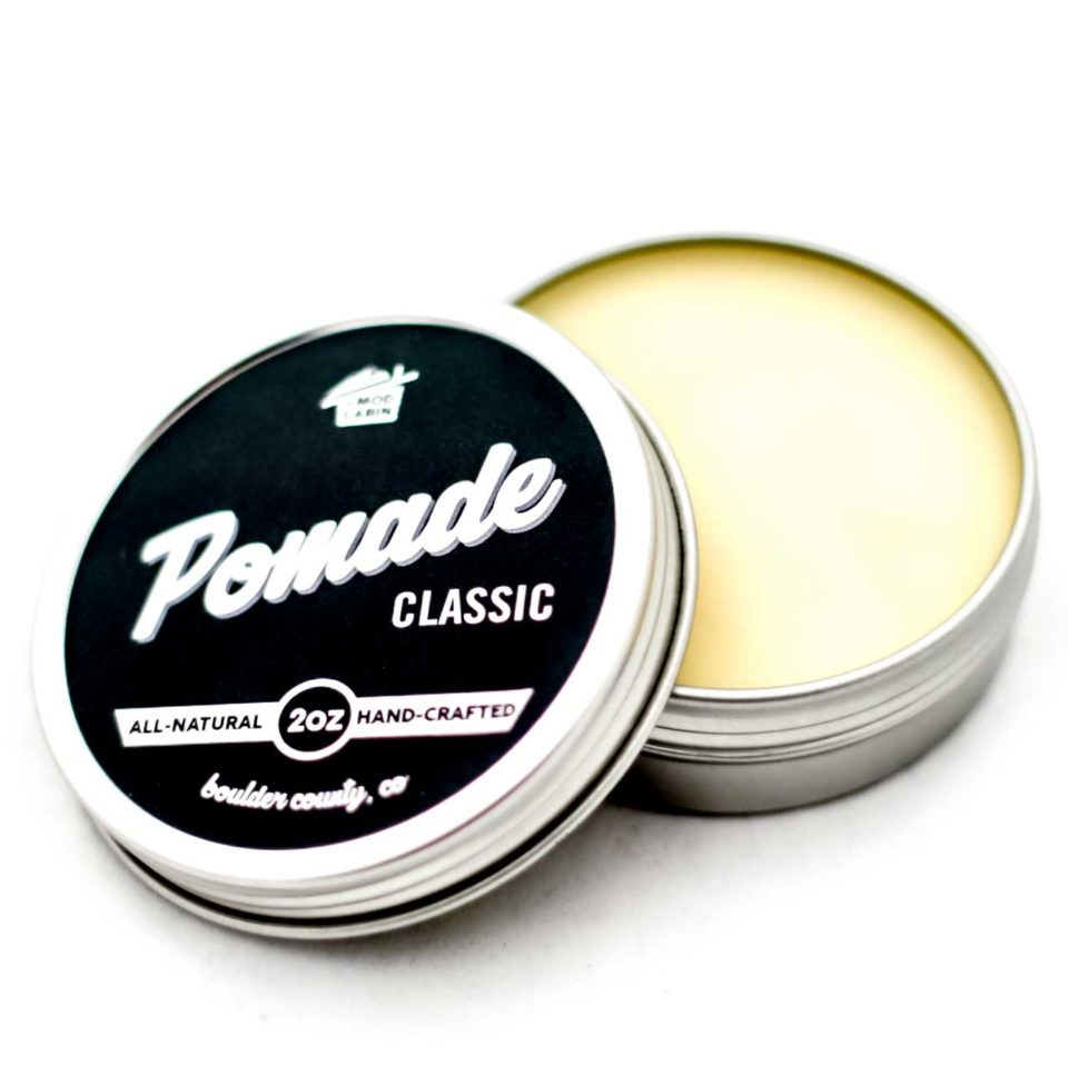 The Mod Cabin Classic Pomade for slick back styles.