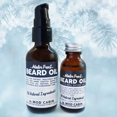 Winter Frost Beard Oil The Mod Cabin