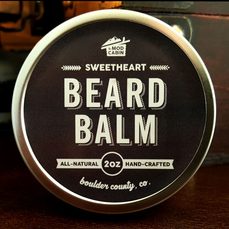 The Mod Cabin Sweetheart Beard Balm