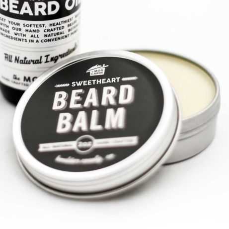 The Mod Cabin Sweetheart Beard Balm Open