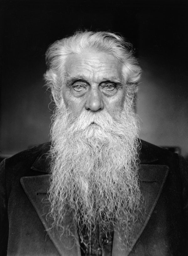 Man With Gray Beard