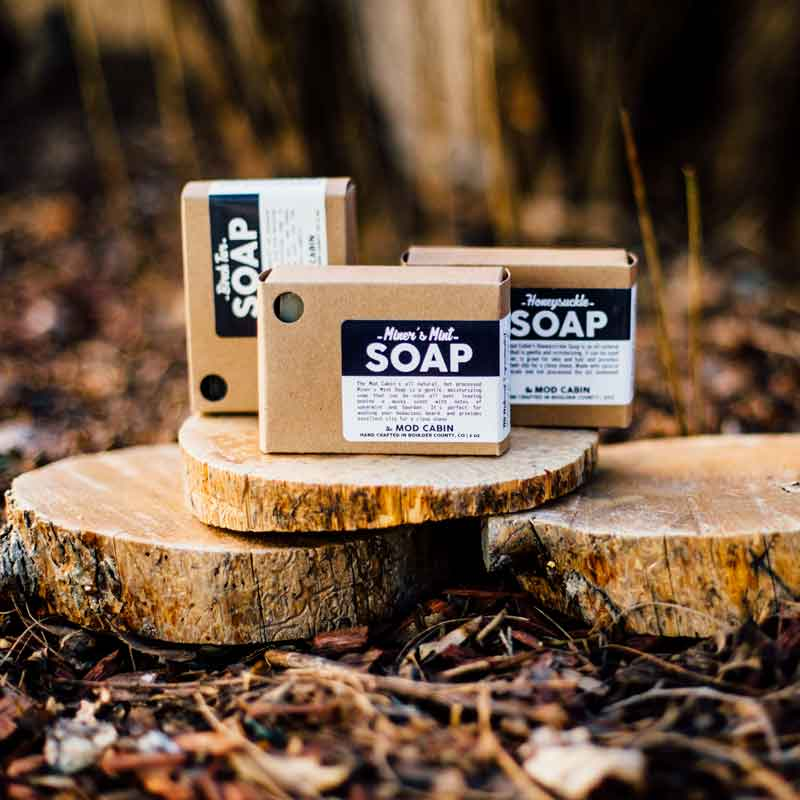 The Mod Cabin Soap 3-pack