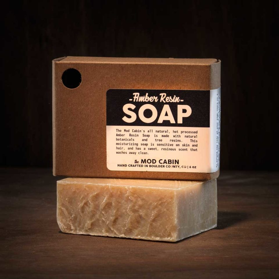 The Mod Cabin Amber Resin Soap