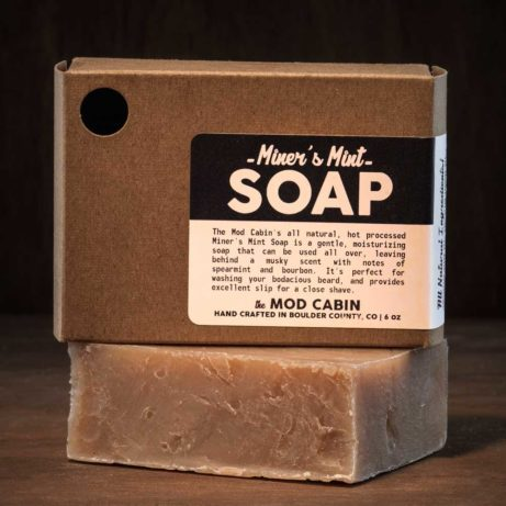 The Mod Cabin Miners Mint Soap