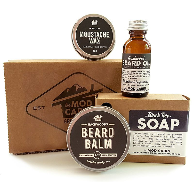core beard kit the mod cabin grooming co. Black Bedroom Furniture Sets. Home Design Ideas