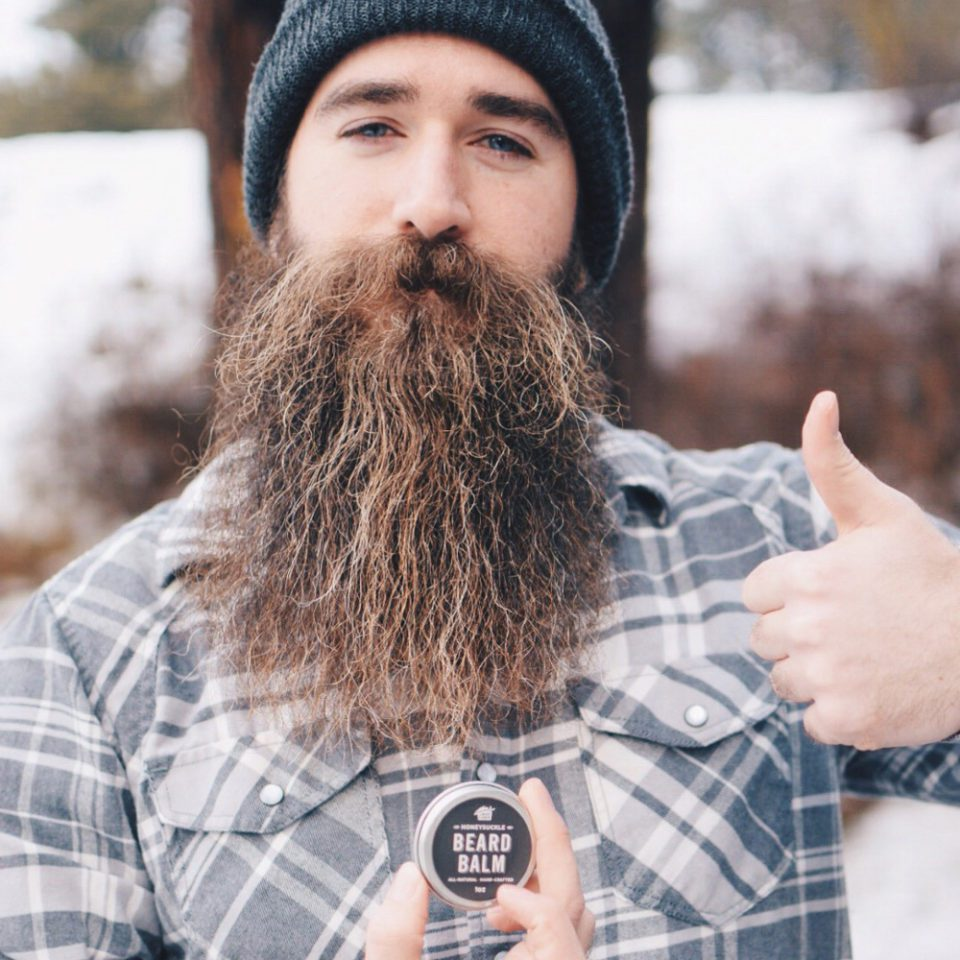 Cory Gall with The Mod Cabin All Natural Beard Balm