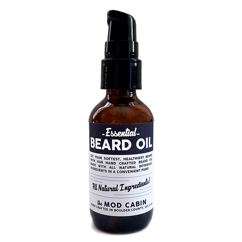 Essential Beard Oil Unscented The Mod Cabin Grooming Co