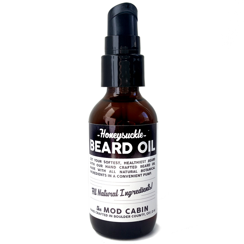 Honeysuckle Beard Oil The Mod Cabin Grooming Co