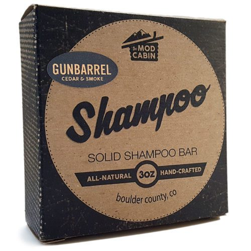 Gunbarrel Solid Shampoo Bar - The Mod Cabin