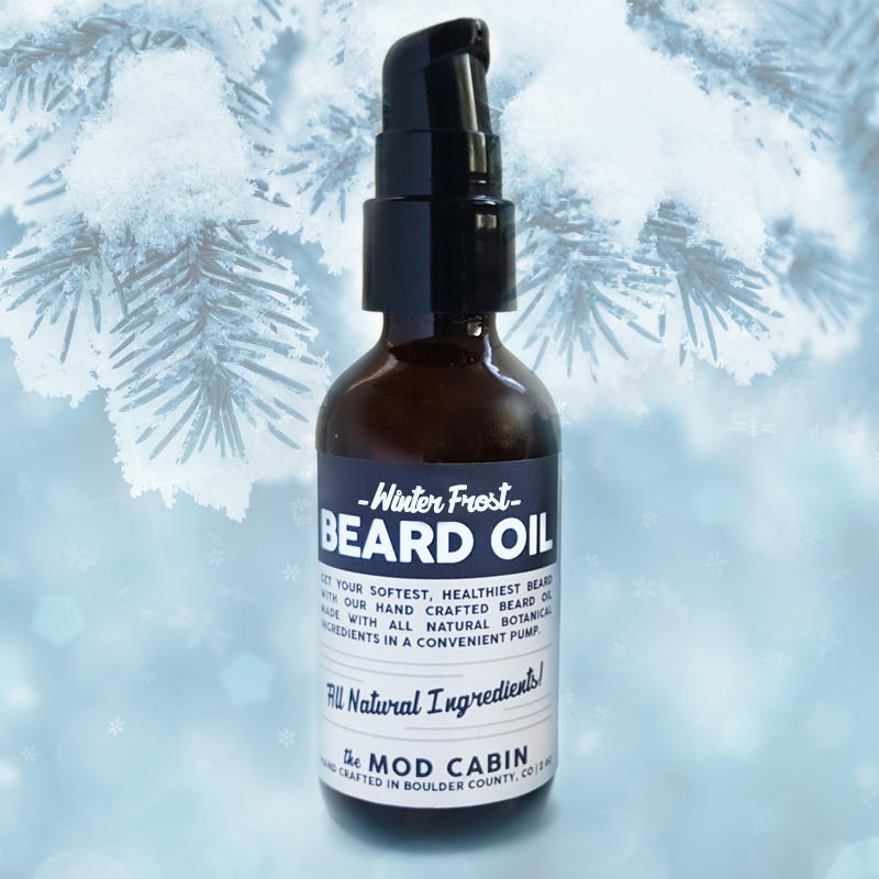 Winter Frost Beard Oil Pump The Mod Cabin