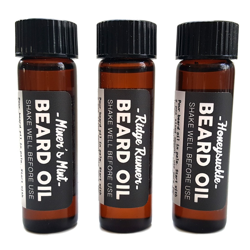 Beard Oil Sampler 3-Pack - The Mod Cabin