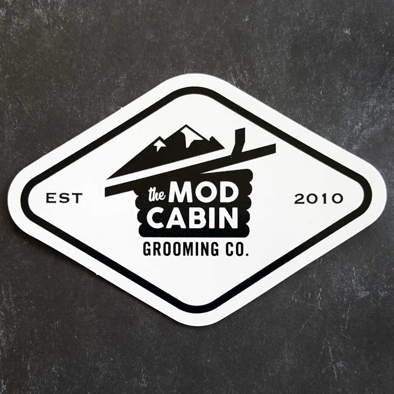 The Mod Cabin Diamond Logo Sticker
