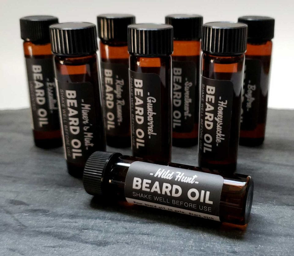The Mod Cabin Beard Oil Tester Vials 3 Pack