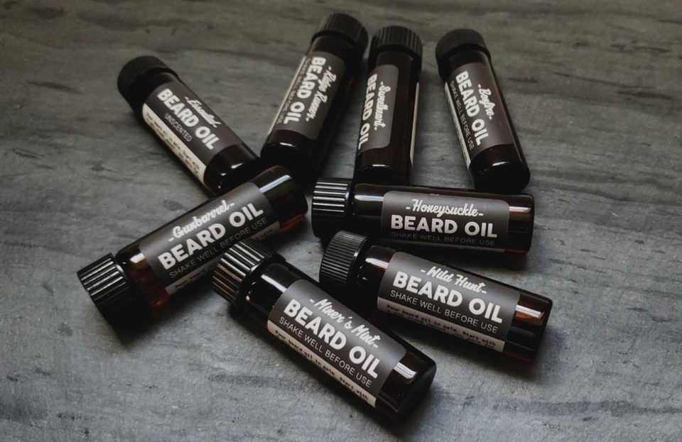 The Mod Cabin Beard Oil Tester Vials 3-Pack